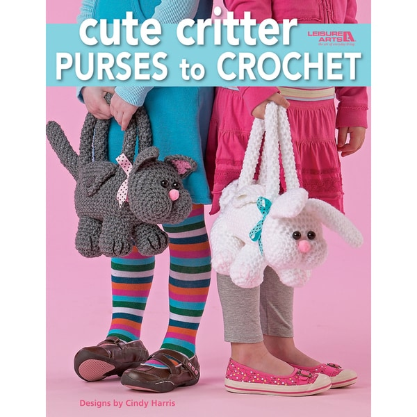 Leisure Arts-Cute Critter Purses To Crochet