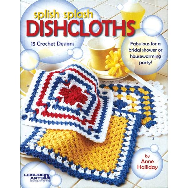 Leisure Arts-Splish Splash Dishcloths