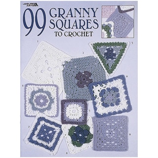 Leisure Arts-99 Granny Squares To Crochet
