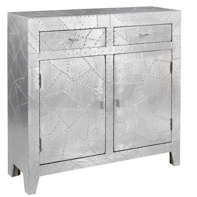 Polished Aluminum Accent Chest