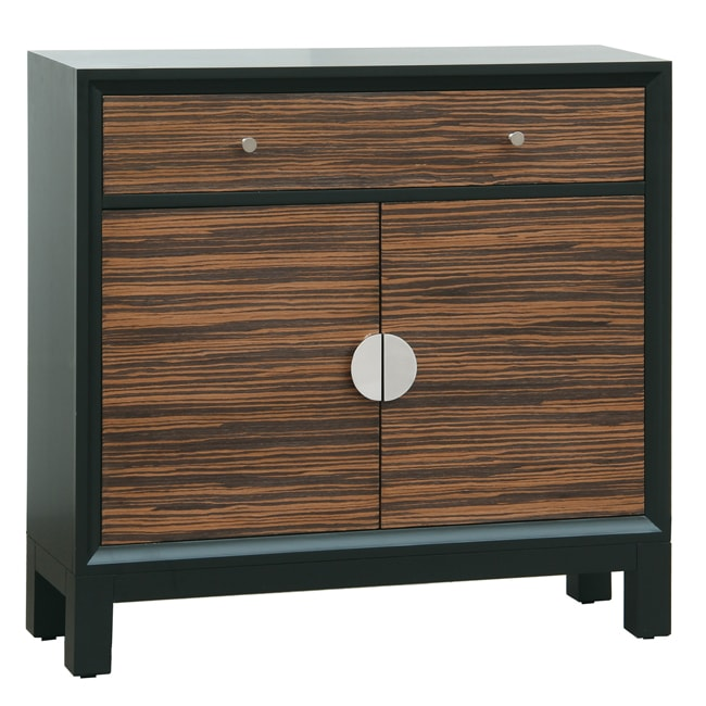 Espresso Brown Finish Accent Chest
