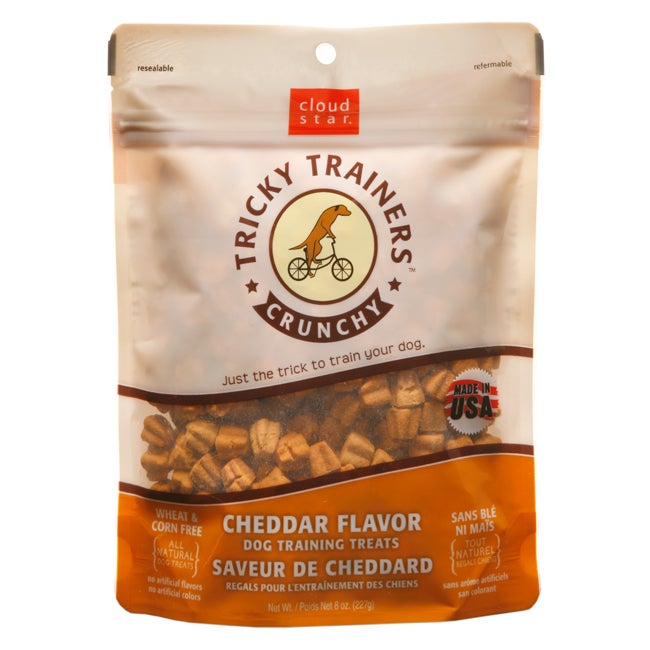 Cloudstar Dog Tricky Trainer Crunch Cheddar 8 ounces - Thumbnail 0