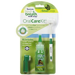 Tropiclean Fresh Breath Made Easy Oral Care Kit for Small Dogs