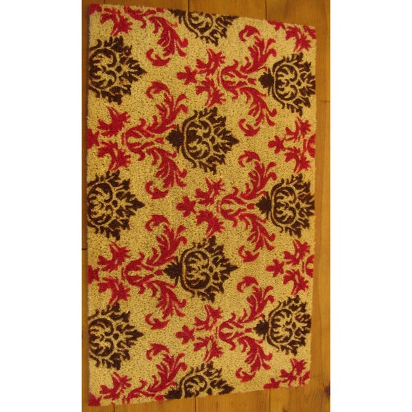 Cocoa Matting 'Monarch' Tan Door Mat (16 x 24)