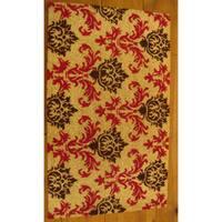 Cocoa Matting 'Monarch' Tan Door Mat (16 x 24)
