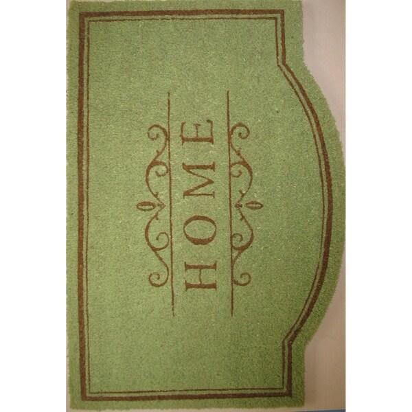 Phenomenal Shop Cocoa Matting Home Green Door Mat 22 X 34 Free Door Handles Collection Olytizonderlifede