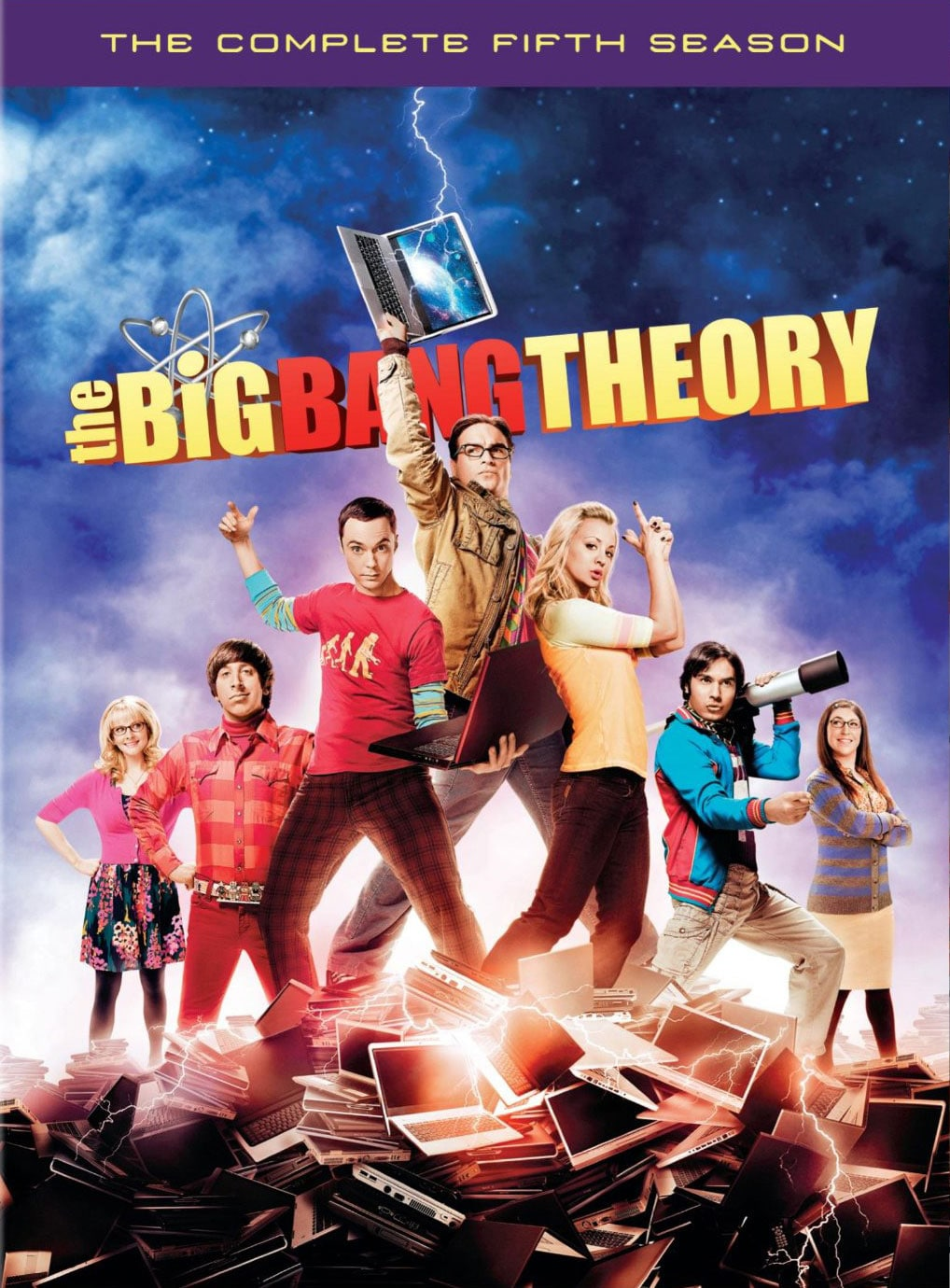 The Big Bang Theory: The Complete Fifth Season (DVD) - Thumbnail 0