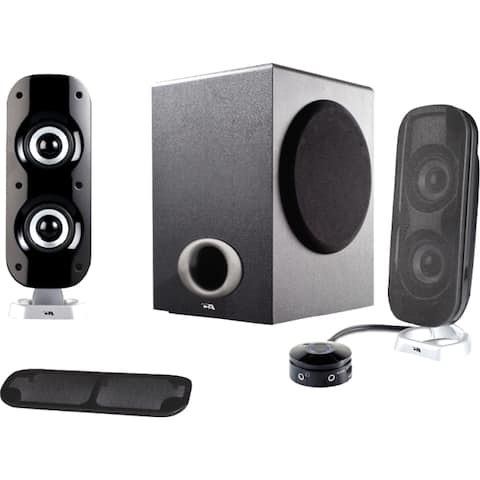 Cyber Acoustics CA-3810 2.1 Speaker System - 38 W RMS