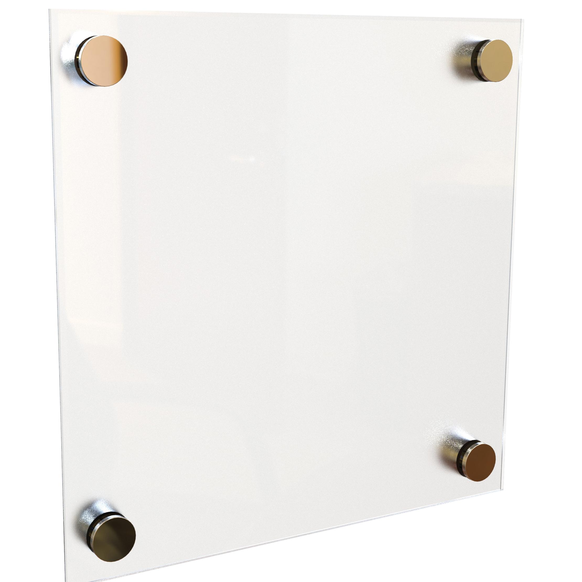 Best-Rite 1 x 1 Enlighten Glass Dry Erase Board