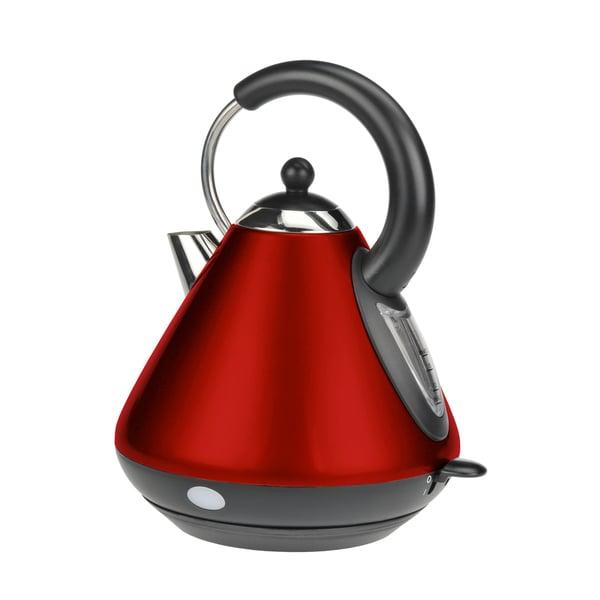 Kalorik Red Pyramid Shape Jug Kettle (Refurbished)