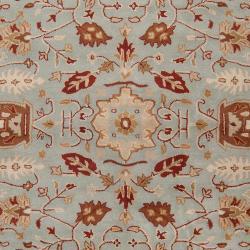Hand-tufted Gray Kings Bay New Zealand Wool Rug (3'3 x 5'3)