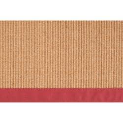 Woven Brown Hillsborough West Natural Fiber Sisal Rug (5' x 7'9)