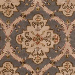 Hand-tufted Green Roxborough Wool Rug (6' x 9') - Thumbnail 2