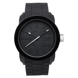 Diesel Men's DZ1437 Black Double Down Silicone Watch