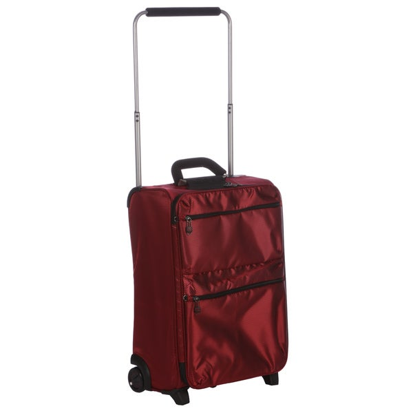 IT 21-inch Red Carry-on Upright with Non-locking Handle
