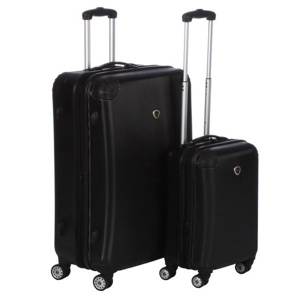 International Traveler Twinwheel Expander 2-piece Hardside Spinner Luggage Set