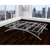Sleep Sync Arch Flex Silver King 14-inch Platform Bed Frame