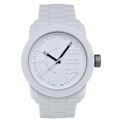 Diesel Men's Dz1436 'Double Down' White Silicone Watch