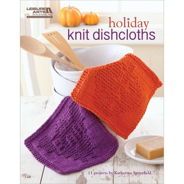 Leisure Arts-Holiday Knit Dishcloths