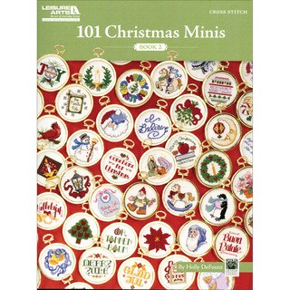 Leisure Arts-101 Christmas Minis, Book 2