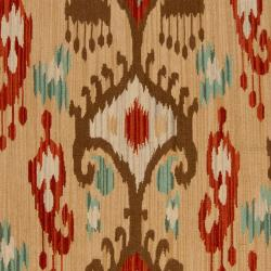 Hand-woven Green Caroni Wool Rug (3'6 x 5'6) - Thumbnail 2