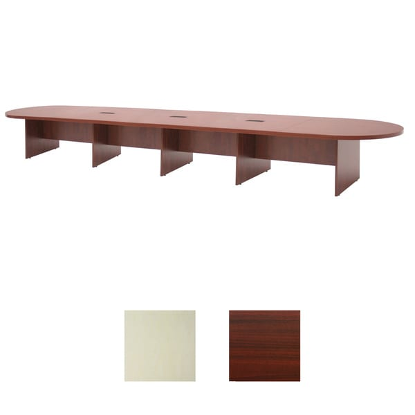 264 inch Modular Race Track Conference Table with Power/Data Grommets