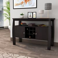 Furniture of America Zarina Cappuccino Buffet Table