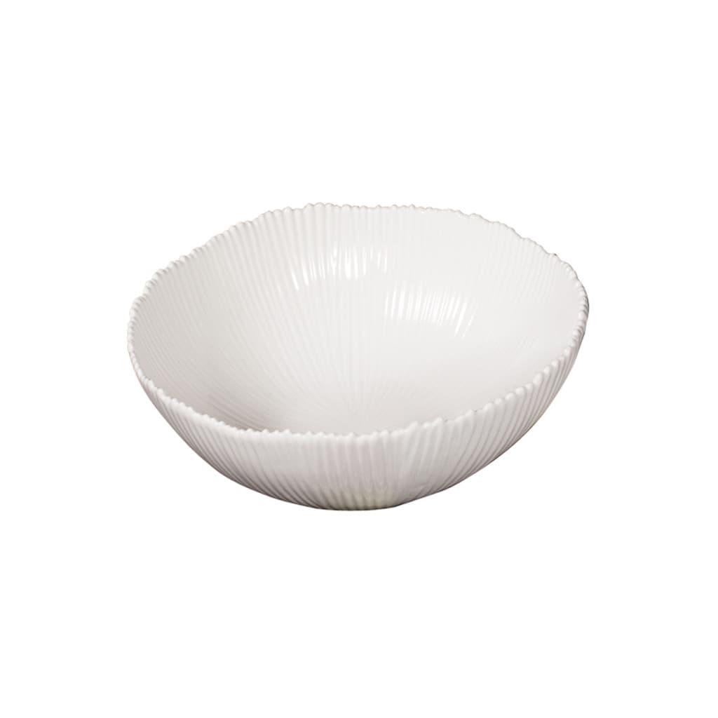 White 8-inch Ceramic Bowl