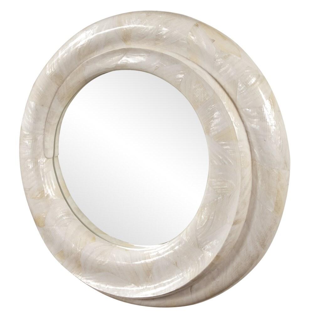 Key Largo 26-inch Shell Mirror