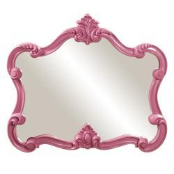 Glossy Pink Veruca Mirror