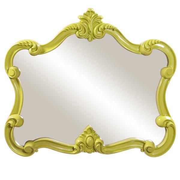 Glossy Green Veruca Mirror