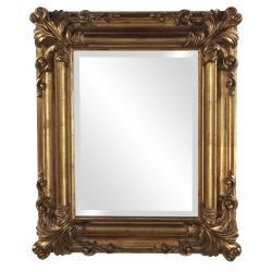 Edwin Rustic Gold Mirror