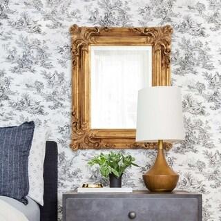 Edwin Rustic Gold Wall Mirror