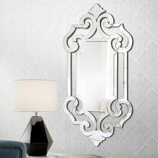 Patrice Venetian Styled Mirror - mirrored
