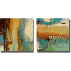 Michael Marcon 'Boardwalk Fun I and II' 2-piece Canvas Art Set