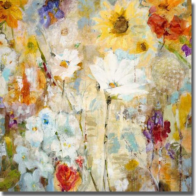 Jill Martin 'Fugue' Canvas Art