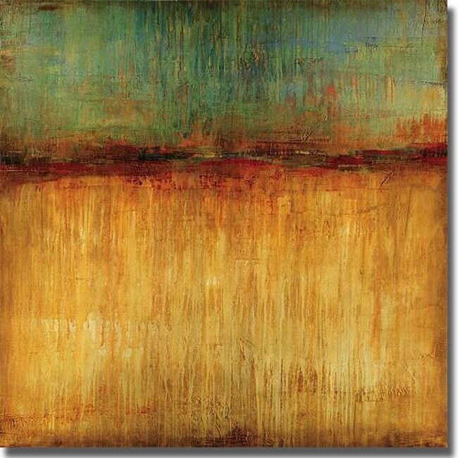 Liz Jardine 'Desert Sunset' Canvas Art