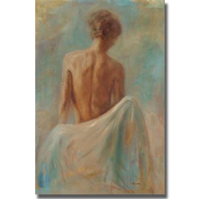 Julianne Marcoux 'Skin' Canvas Art