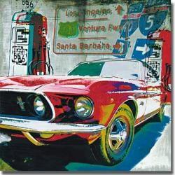 Ray Foster 'Ventura Freeway' Canvas Art