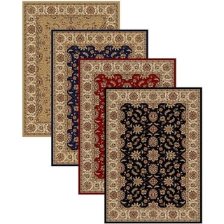 Admire Home Living Traditional Amalfi Oriental Area Rug (7'9 x 11') - 7'9 x 11'