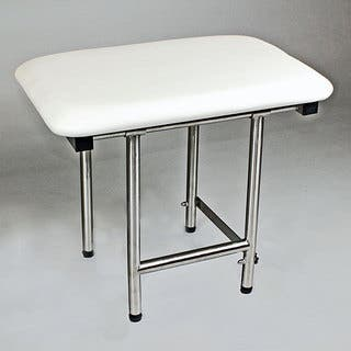 ADA Compliant Folding Shower Seat CSI Bathware 22 x 16 Padded Shower Seat with Swing Down Legs|https://ak1.ostkcdn.com/images/products/6765898/P14306920.jpg?impolicy=medium