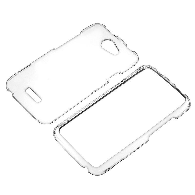 INSTEN Clear Snap-on Crystal Phone Case Cover for HTC One X