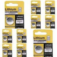 INSTEN Lithium Coin Battery CR2032 (Pack of 10)