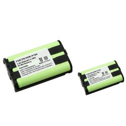 INSTEN Compatible Cordless Phone Battery for Panasonic HHR-P104 (Pack of 2)