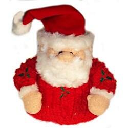 Vo-Toys Chenille Holly Santa