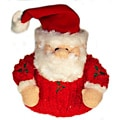 Vo-Toys Chenille Holly Santa
