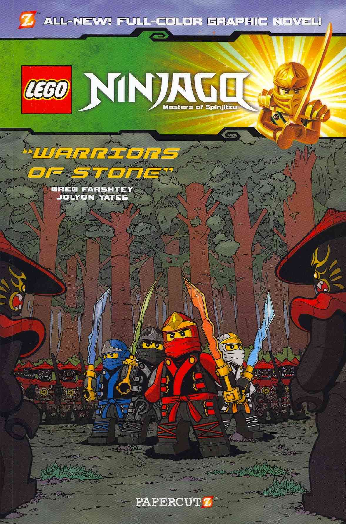 Lego Ninjago Masters of Spinjitzu: Warriors of Stone (Paperback)