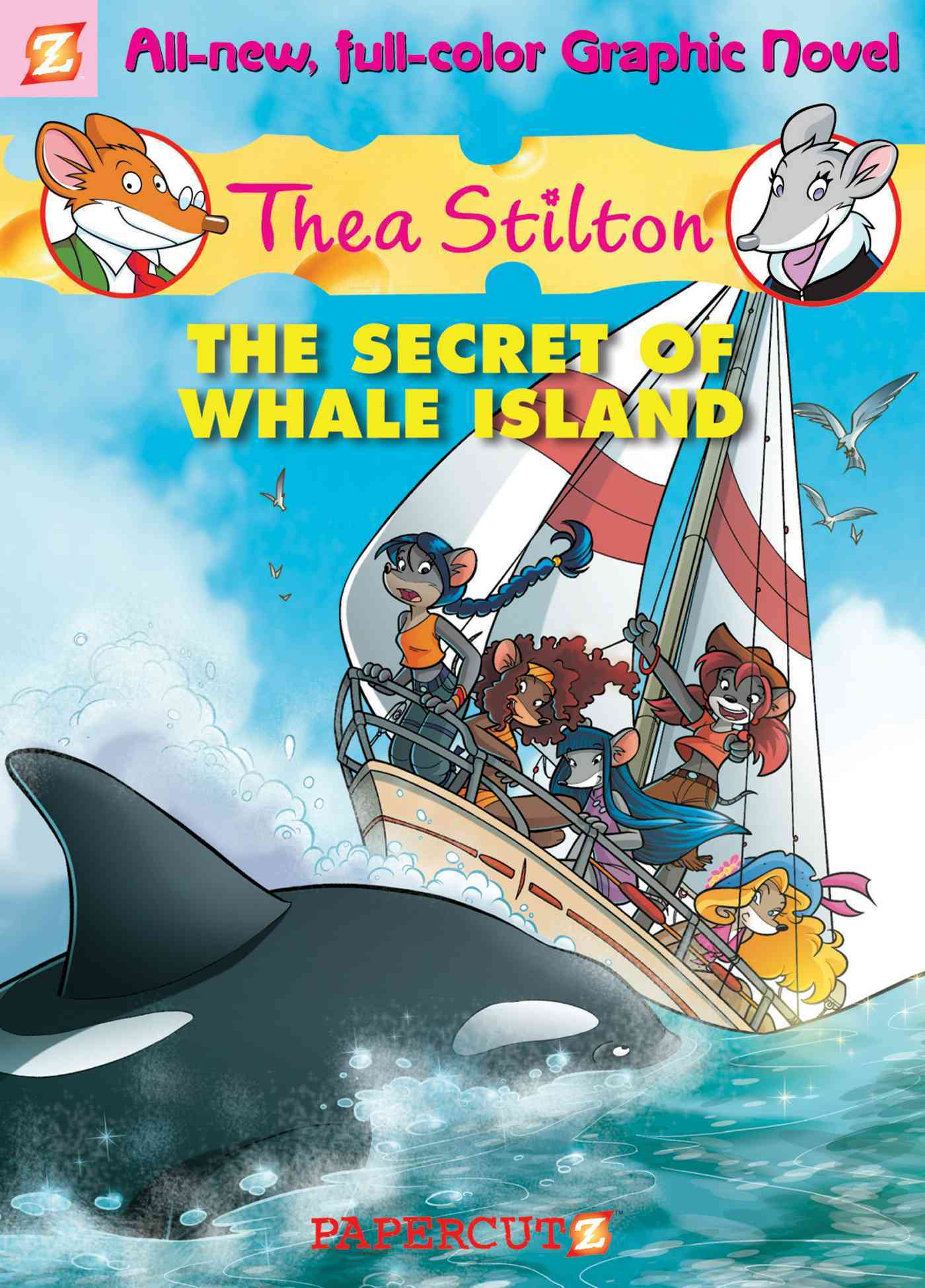 Thea Stilton 1: The Secret of Whale Island (Hardcover)