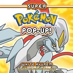Super Pokemon Pop-up White Kyurem (Hardcover)