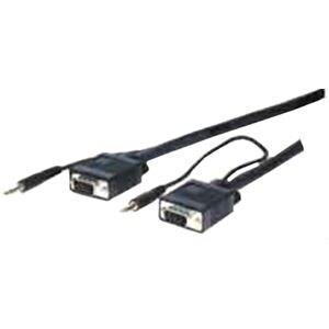 Comprehensive Pro AV/IT Series VGA w/Audio HD15 pin Plug to Plug Cabl